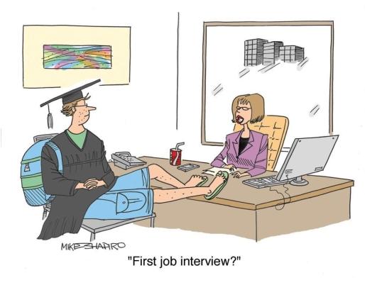 Phỏng vấn xin việc - First job interview